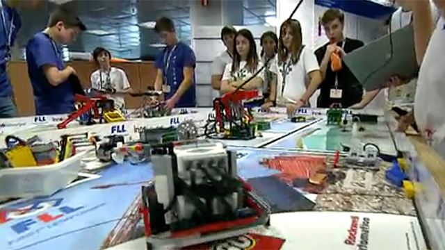 Ir a la experiencia FIRST LEGO League